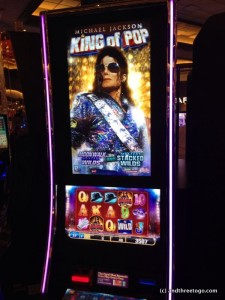 Who would't want to play a Michael Jackson penny video slot machine?!