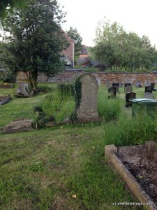 More of the graveyard