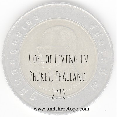 Cost of Living in Phuket, Thailand 2016