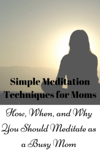 Are you a mom looking to find balance, reduce anxiety, and be more mindful. Try meditation! Here's a simple beginner's guide to how to start meditating today, and tips for moms!