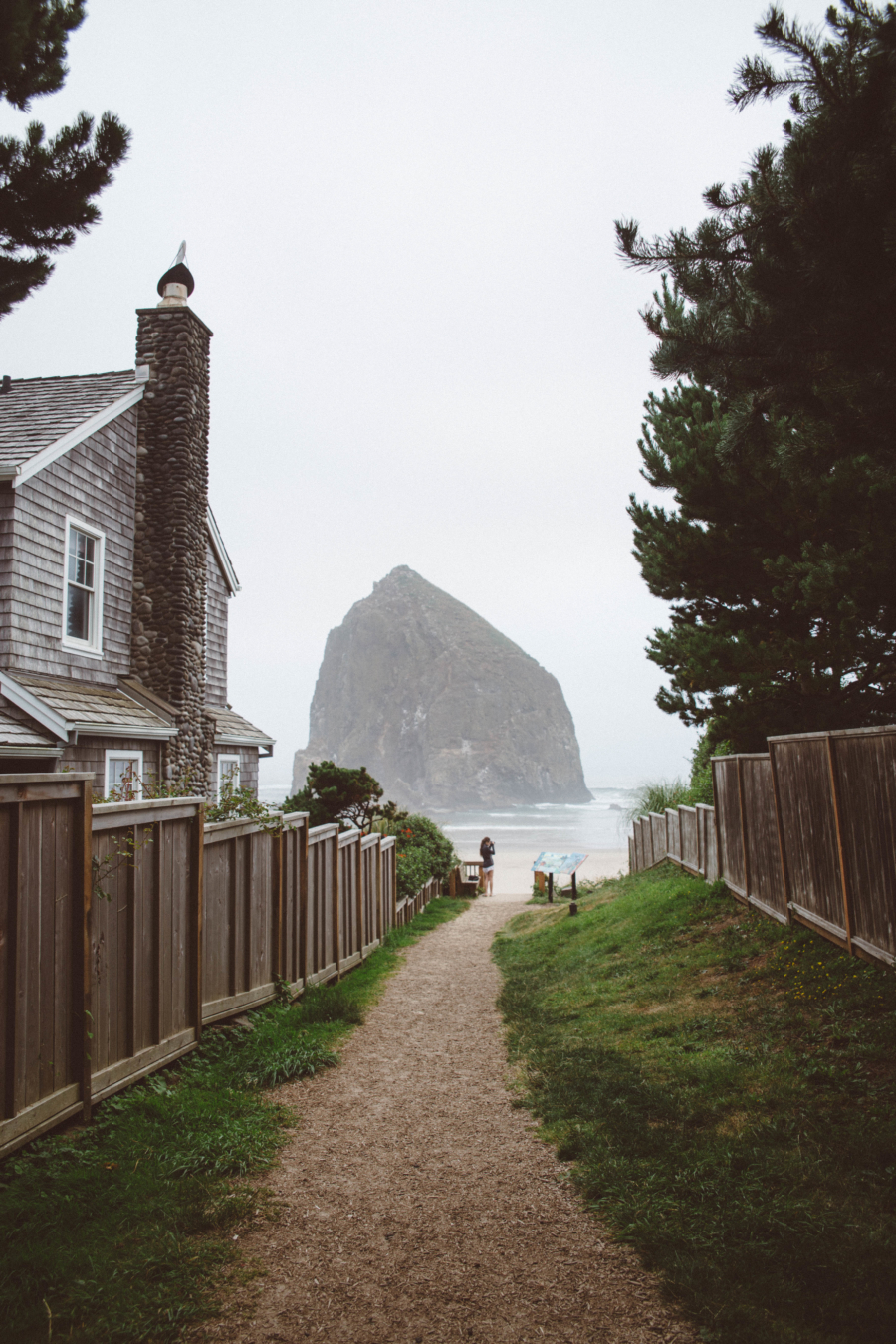 PNW Road Trip Cannon Beach Haystack Rock Oregon