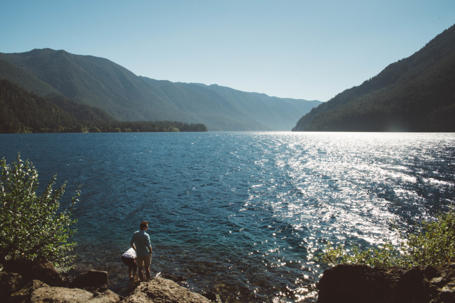PNW Road Trip Lake Crescent Olympic Peninsula