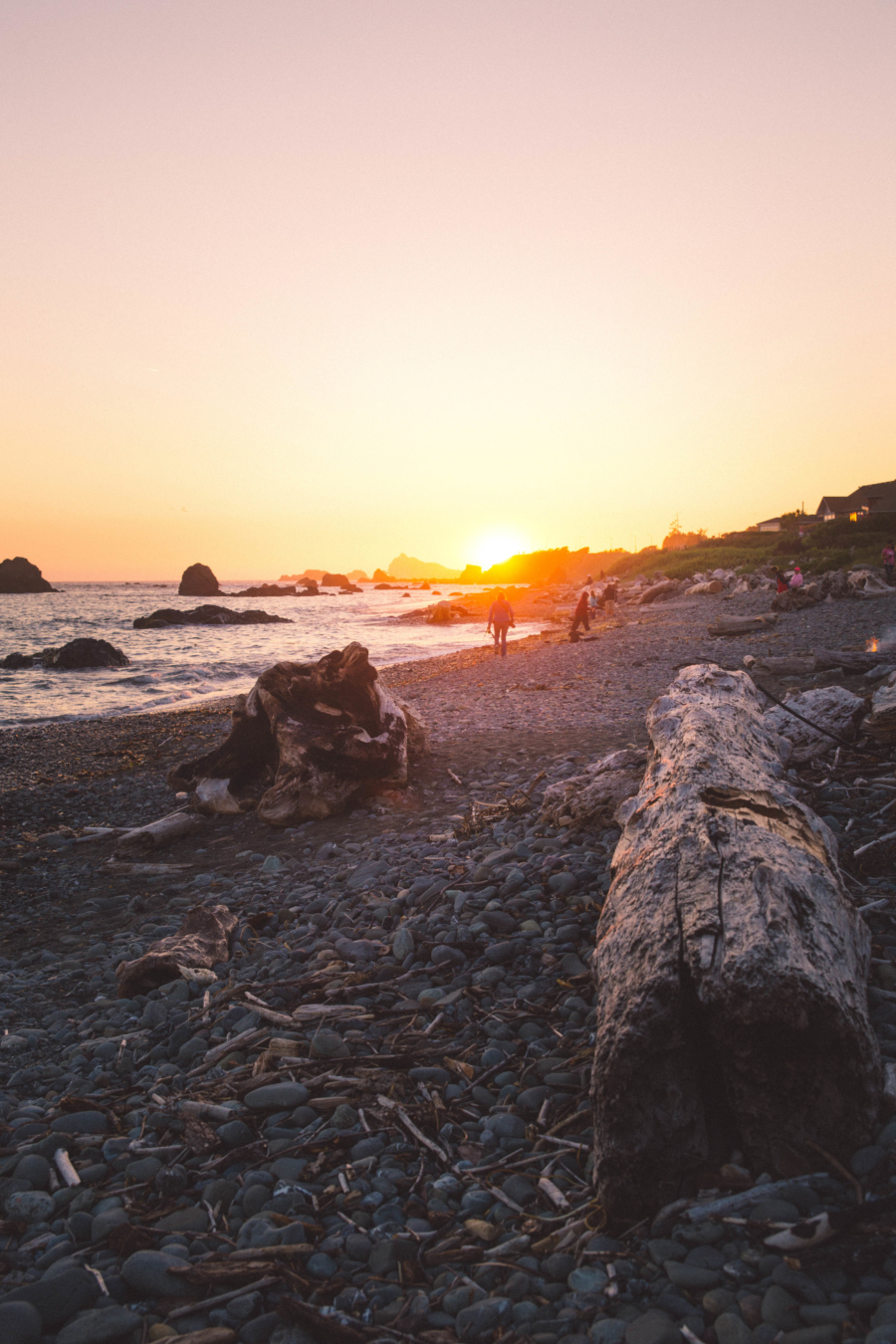 PNW Road Trip Crescent City California Sunset