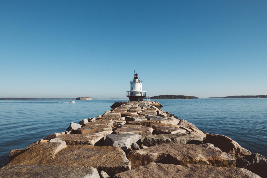 Maine Road Trip Spring Point Ledge Lighthouse
