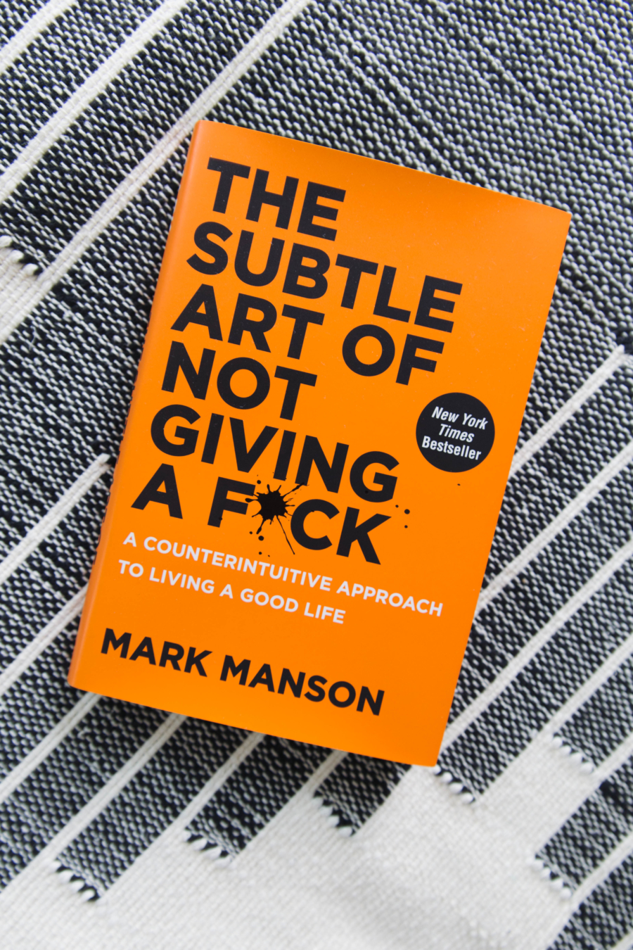Summer 2017 Reading List The Subtle Art of Not Giving A Fuck