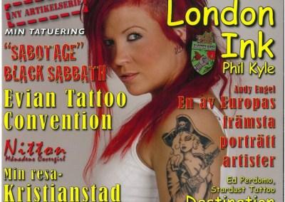 SCANDINAVIAN TATTOO MAGAZINE - Nr. 85-2009