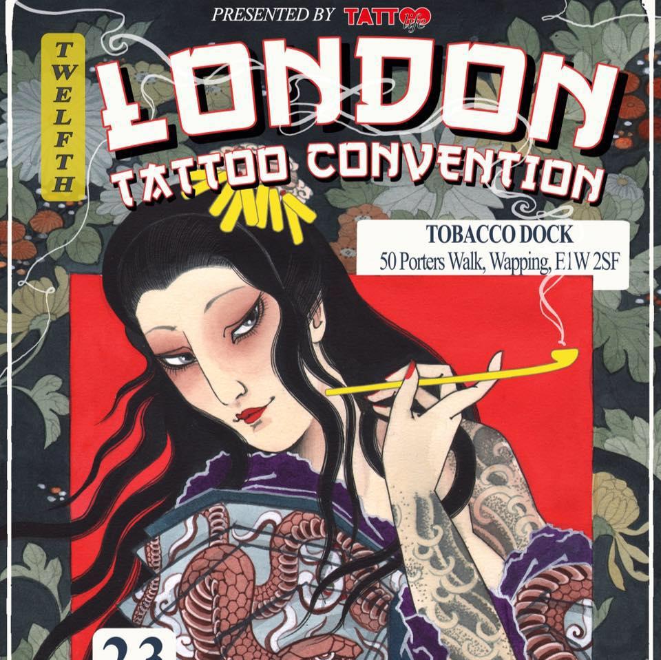 Termine - Dates: 23. - 25.09.2016 International London Tattoo Convention