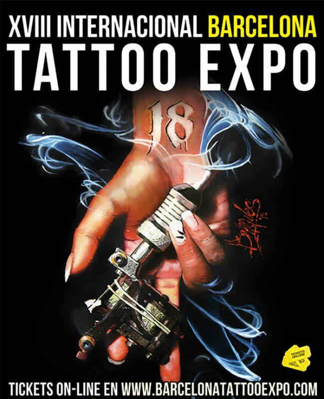 Termine - Dates: 30.09. - 02.10.2016 Barcelona Tattoo Expo