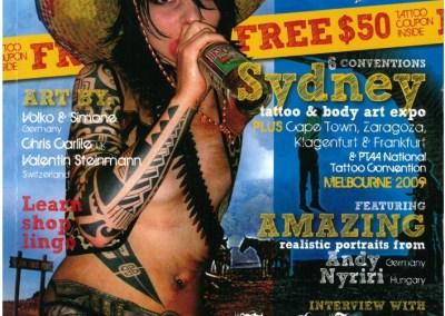 CUSTOM TATTOOZ - Ausgabe 7 - Juli-August 2009
