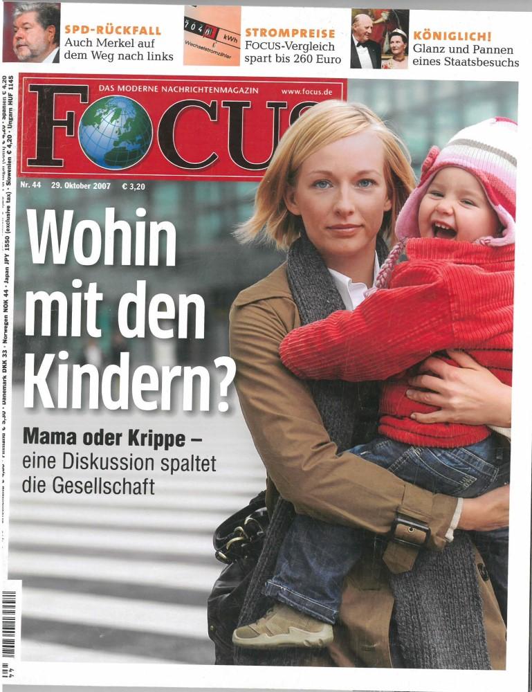 FOCUS - Ausgabe 44 - Oktober 2007