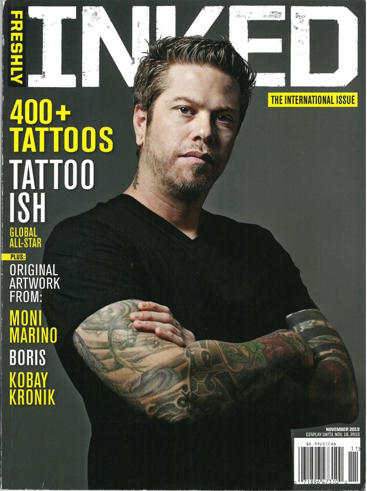 FRESHLY INKED - Vol. 3_Ausgabe 5 - November 2013