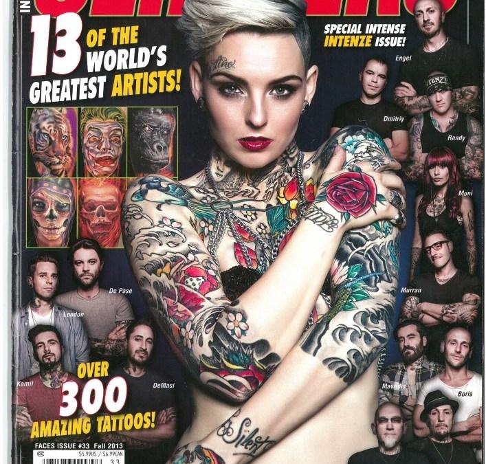 Ink Slingers Ausgabe 33 Herbst 2013 Tattoo Artist Andy Engel