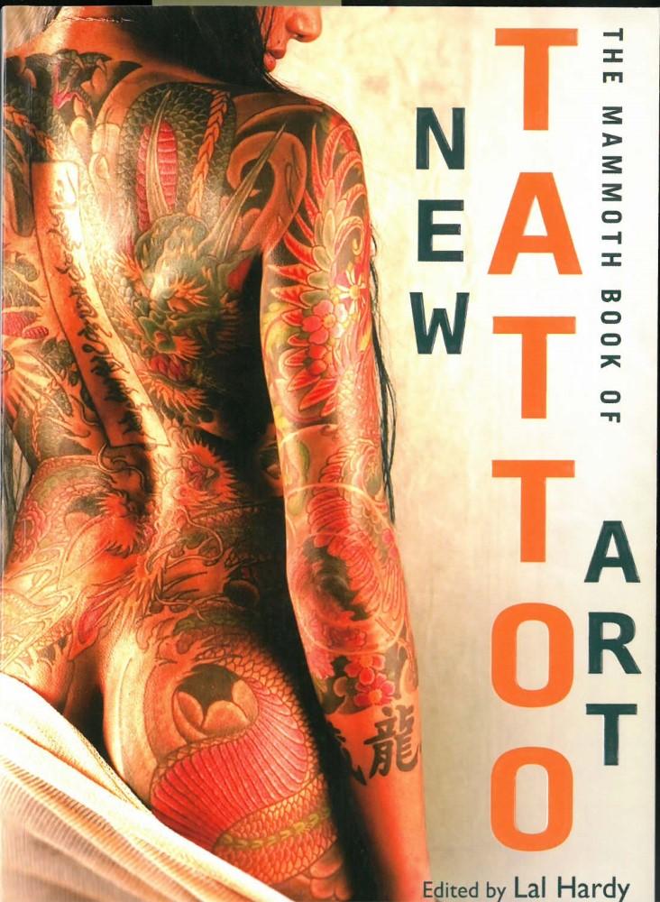 B�cher - Ver�ffentlichungen - THE MAMMOTH BOOK OF NEW TATTOO ART - 2014