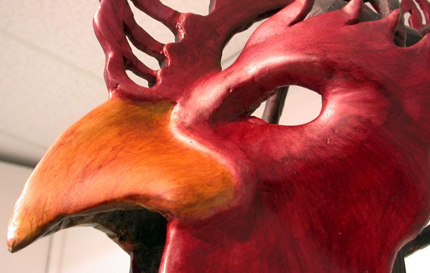 """""""Rooster"""" Ceremonial Helmet"""