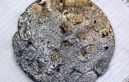 Bronze Onto Aluminum