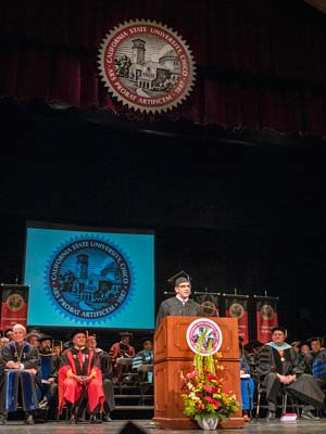 Andy Rader: Commencement Speech