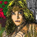 Rader - Print Experiment - Empress Color Sketch