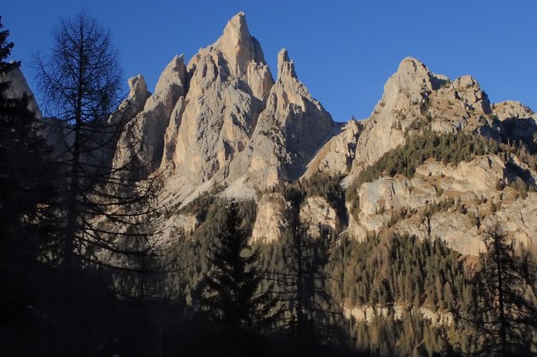 The Cantinaccio Group of mountains.