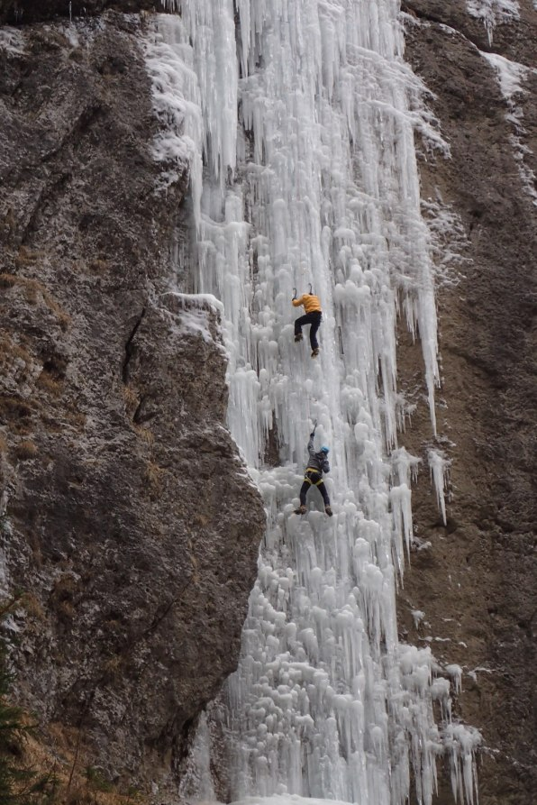 Ice-climbing in Sottoguda #5