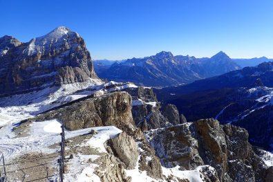 Piz Lagazuoi views - looking to Cortina