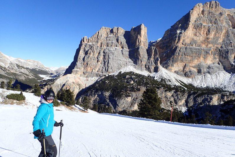 Skiing the Lagazuoi #2