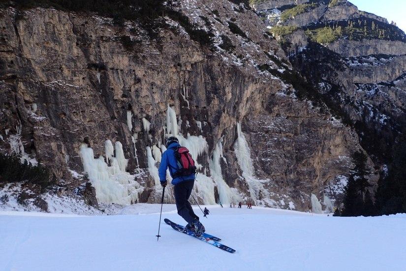 Skiing the Lagazuoi #4