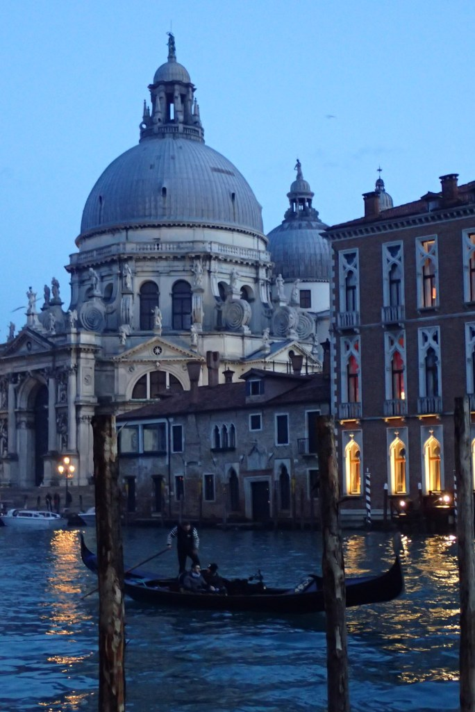 Gondoliere on the Grand Canal