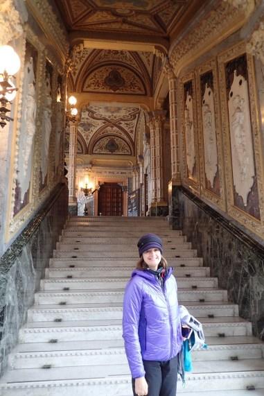 Incredible interior of Palazzo Franchetti