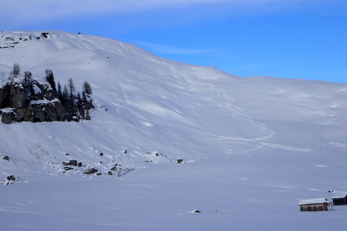 Col Toron 8 Feb South Face