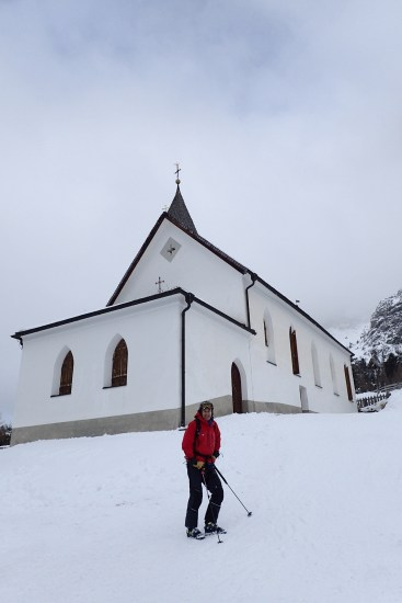 Old church in snow #2