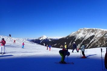 Views towards Obereggen