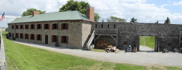 Barracks building