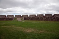 Louisbourg Fortress fortifications and cannons