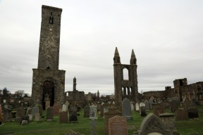 15 St Ruler's Tower and remnants of St Andrews Cathedral
