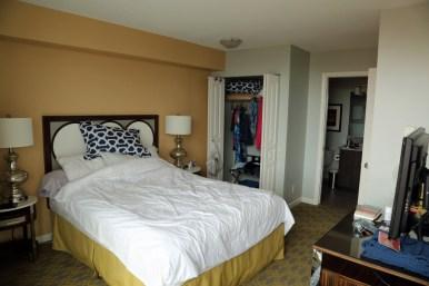 Victoria Condo master bedroom