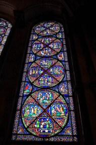 Canterbury Cathedral - stained glass window 4