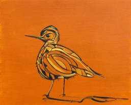 Birdie, size 16x20 in., canvas giclée print available in size R4