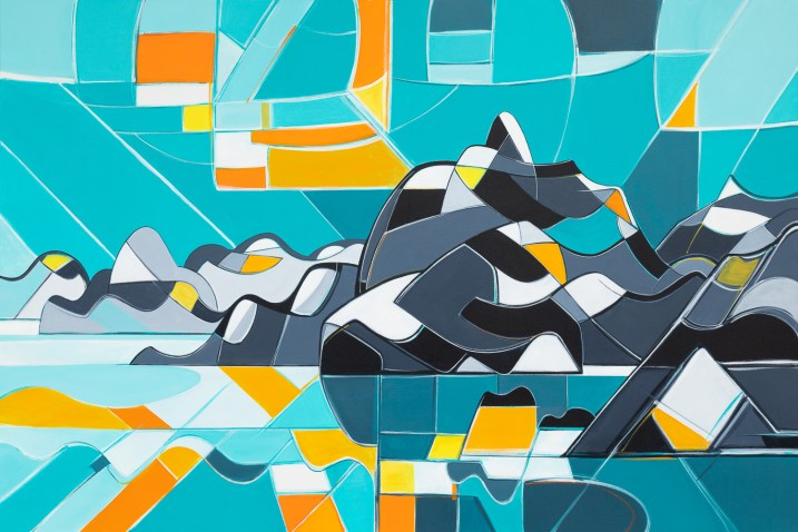Anvil, original size 48x72 in., original not available, canvas giclée print available in size R0,R5