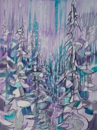 Narnia, size 36x48 in., original sold, canvas giclée print available in size R3,R6,R7