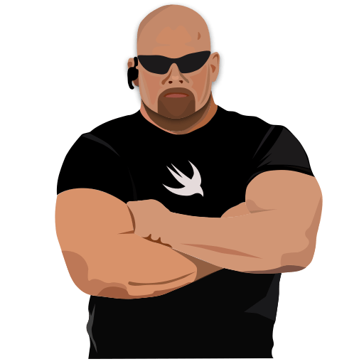 Bouncer with Swift T-Shirt
