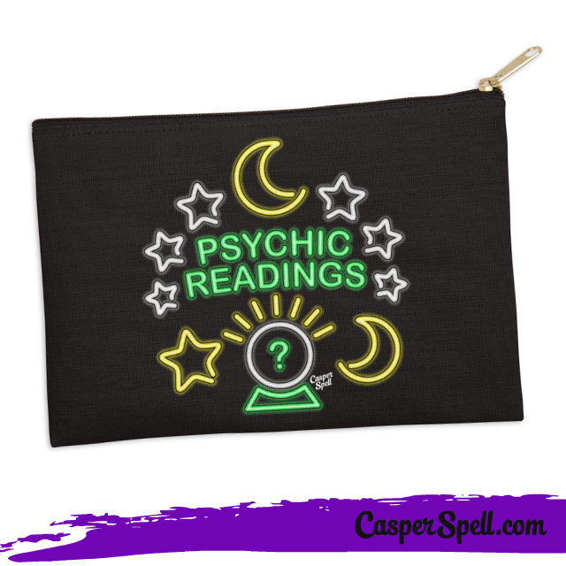 Neon Sign Psychic Readings Fortune Teller Gypsy Art Gifts Accessories Casper Spell