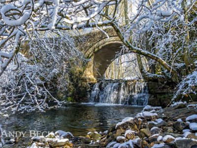 Snow at Bowlee Beck