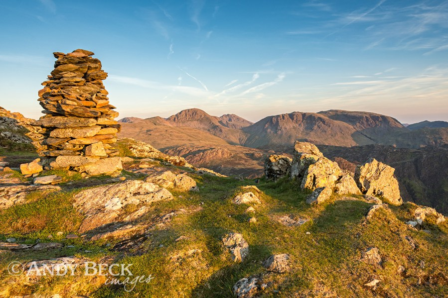 Great Gable from Fleetwith Pike