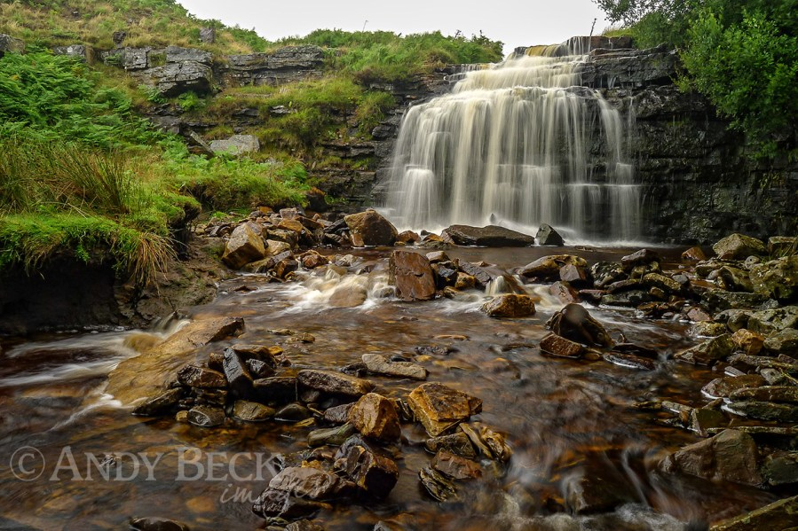 Hudeshope Beck waterfall 3