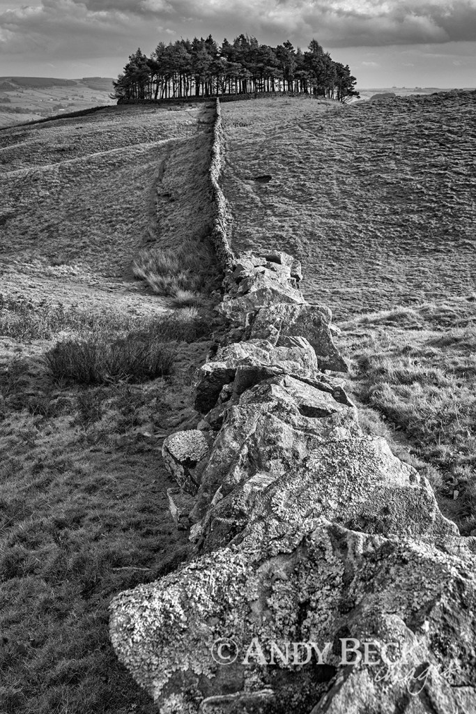 The wall to Kirkcarrion