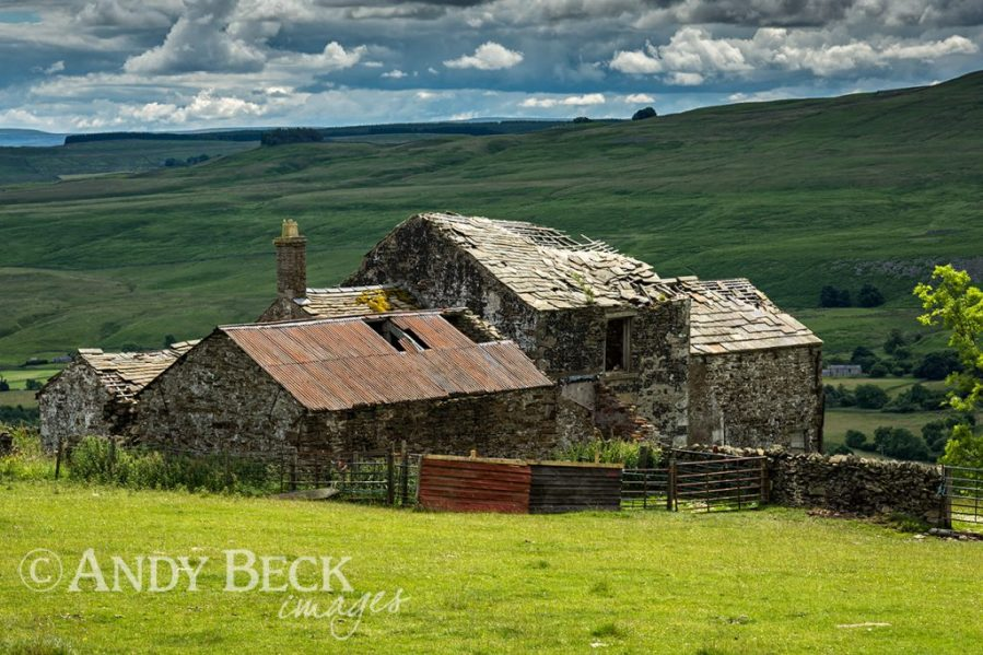 The ruined farmhouse