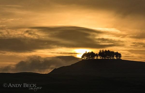 Kirkcarrion sunset