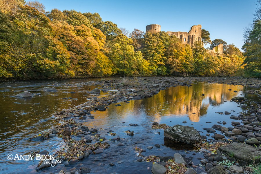 Barnard Castle and the River Tees
