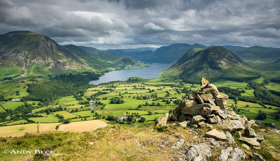 Crummockwater from Low Fell