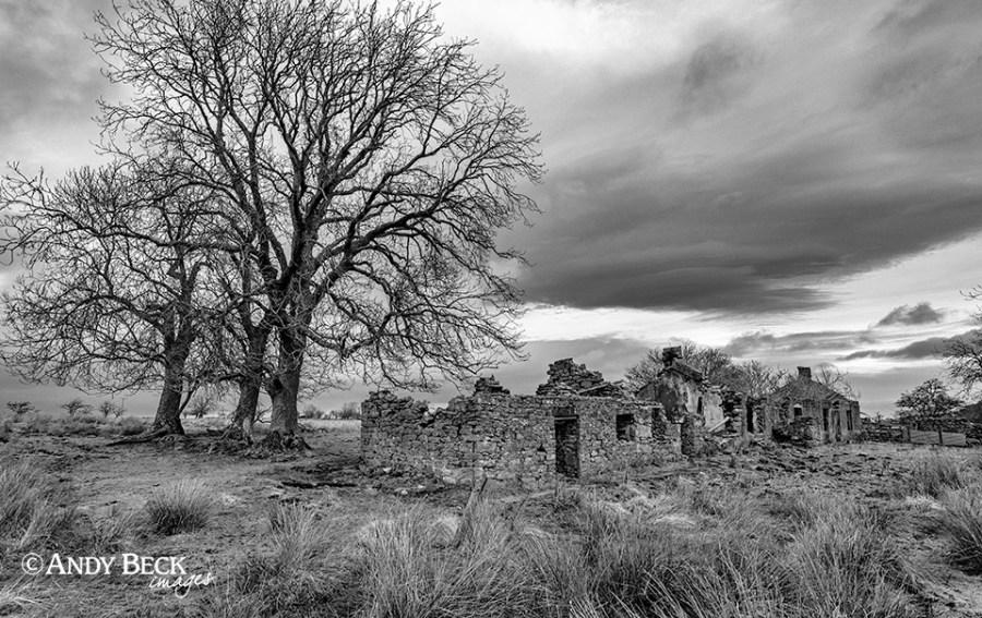 Abandoned houses, Scargill